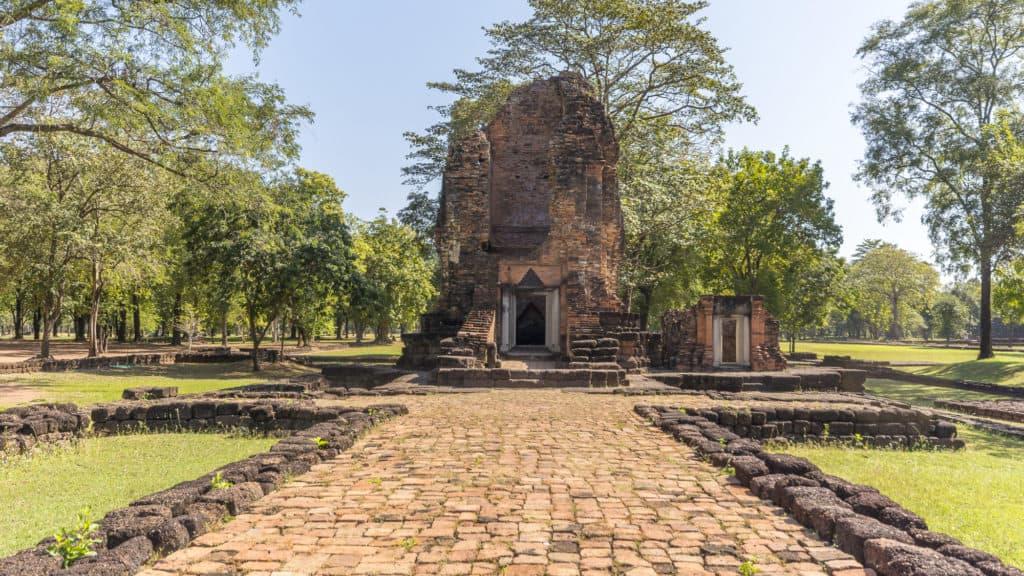 Historischer Tempel in Si Thep