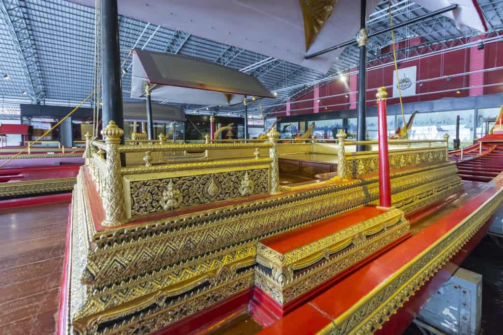 Der Königliche Bereich der Barkasse von Rama IX