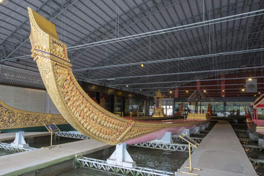 Anekchart Phu-Chong die älteste Königliche Barkasse