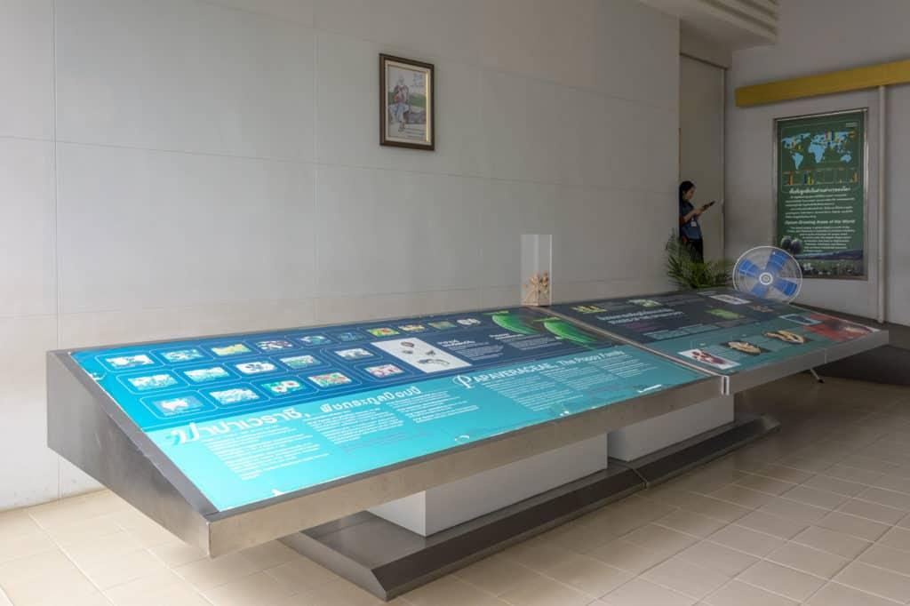 Schautafeln im Eingangsbereich der Hall of Opium