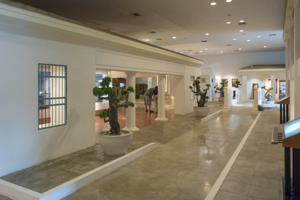 Modernes Design in der Hall of Opium
