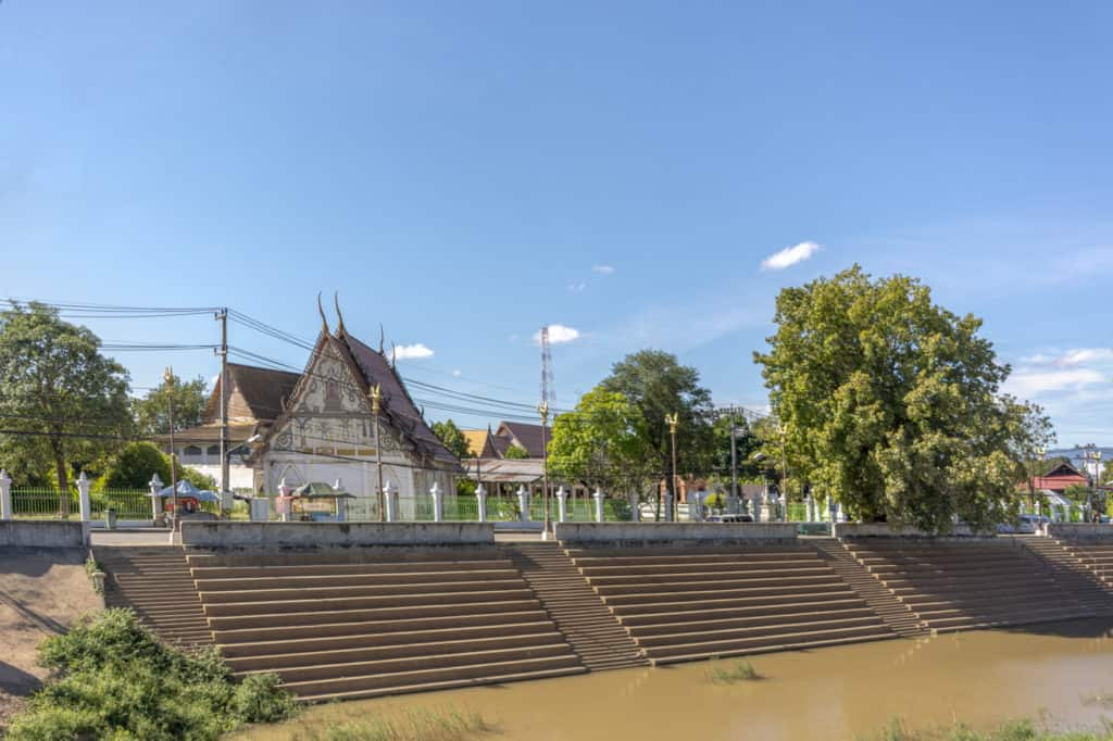 Gesamtanblick Wat Trai Phum in Phetchabun