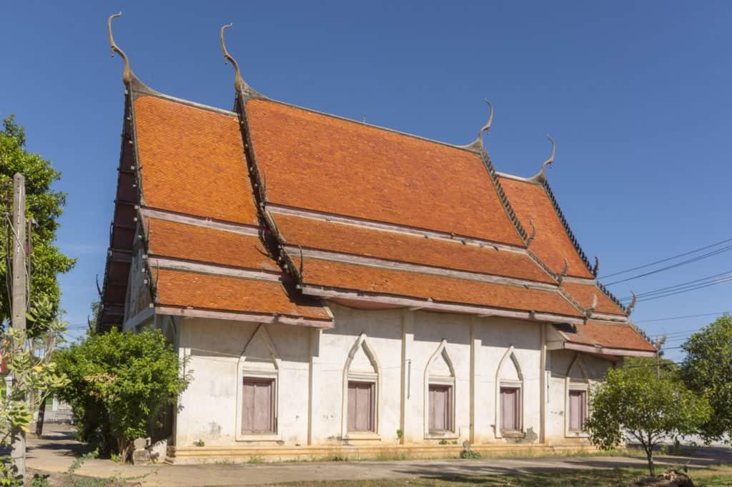 Der Bot als wichtigstes Gebäude im Wat Trai Phum