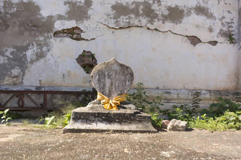 Bot Steine im Wat Trai Phum in Phetchabun