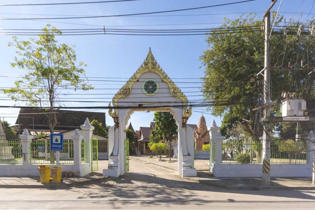 Eingangstor zum Wat Thai Pham