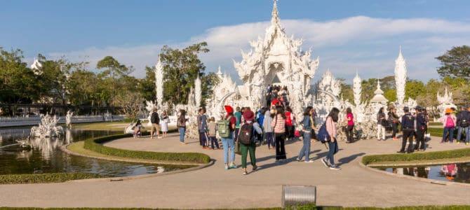 Der weiße Tempel in Chiang Rai