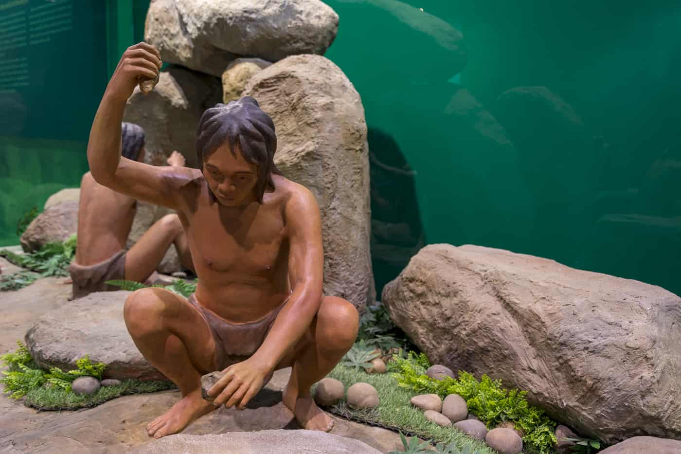 Die Geschichte Thailands beginnt mit Funden von Steinwerkzeugen