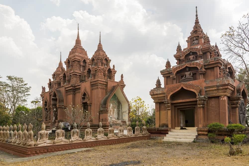 Aufnahme vom Wat Khao Phra Angkhan in Buriram