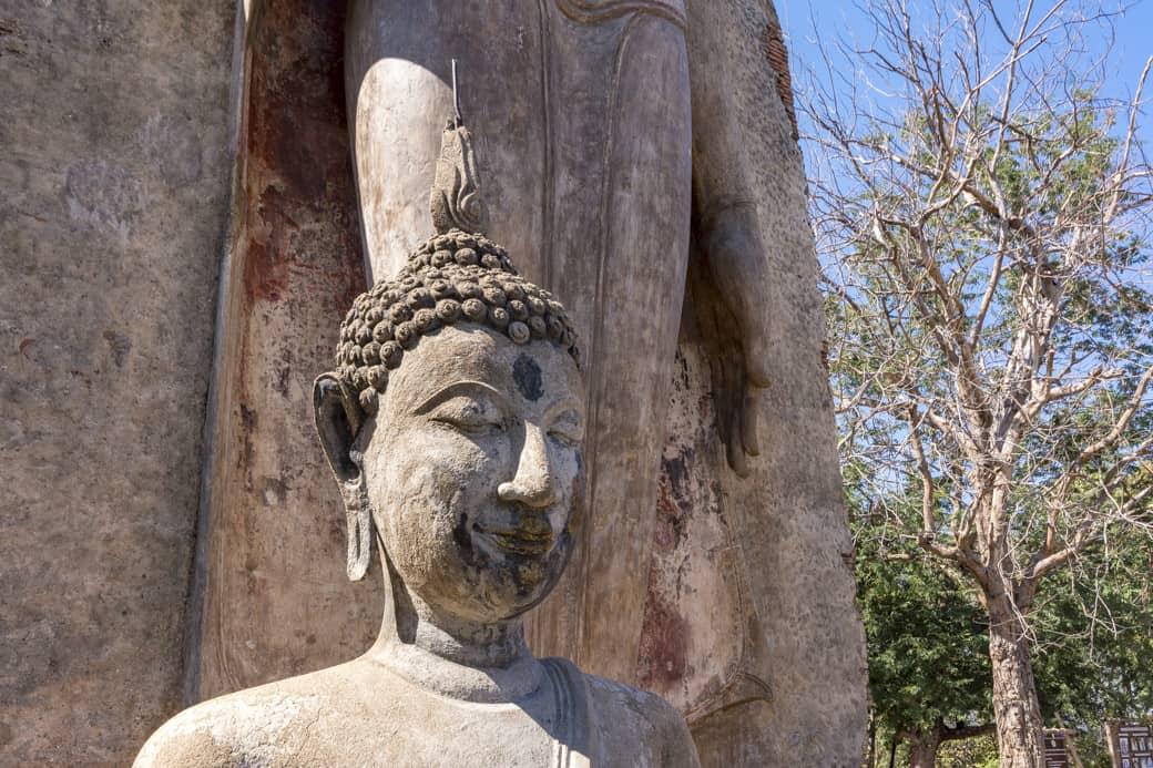 Buddha Kopf aus der Dvaravati Epoche