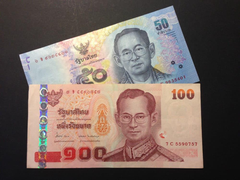 Thailändische Geldscheine - König Bhumibol Adulyadej