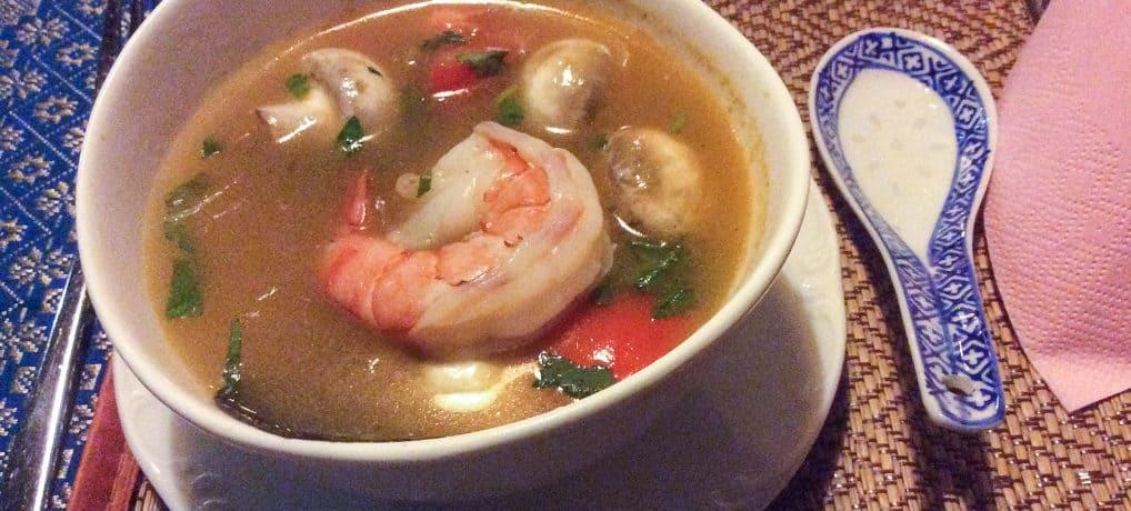 Tom Yam Gung – köstliche Garnelen Suppe