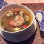 Tom Yam Gung - köstliche Garnelen Suppe