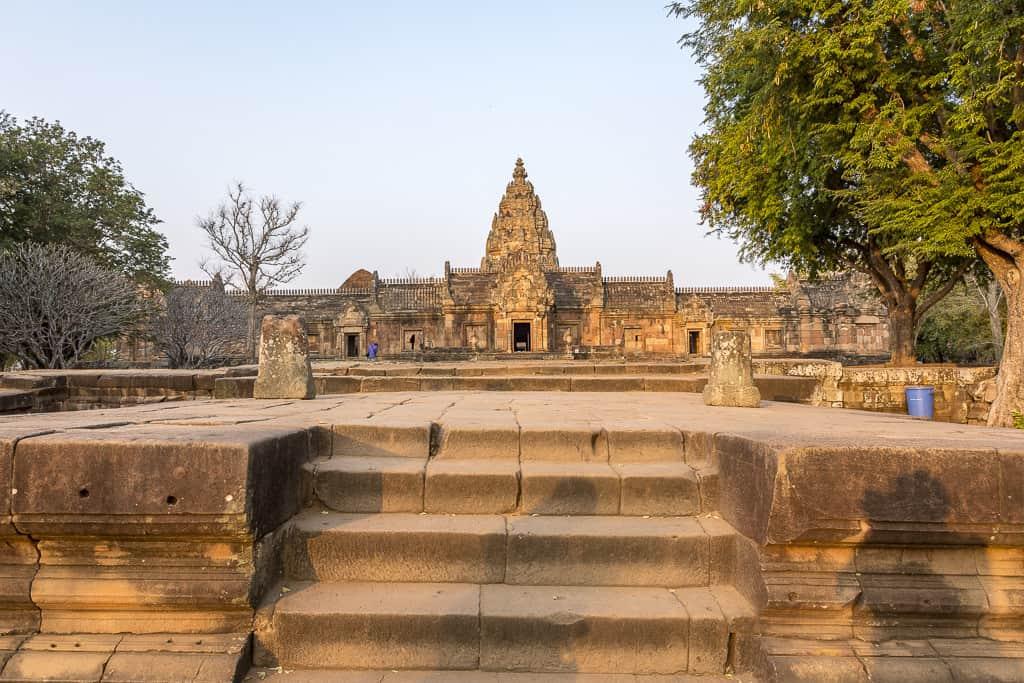 Überblick über den heiligen Bereich Bereich Phanom Rung