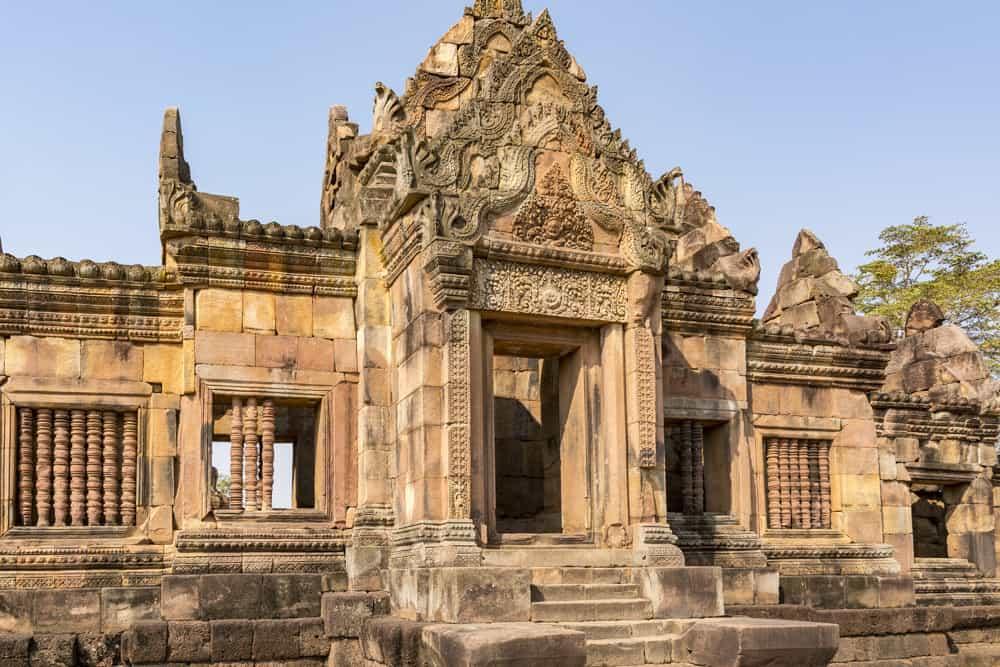 Gopuram, der Eingangsturm zur Gallerie