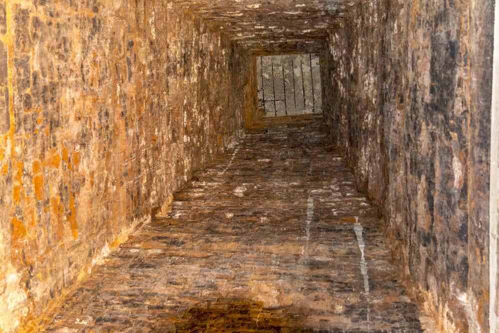 Innenraum eines der 4 Türme