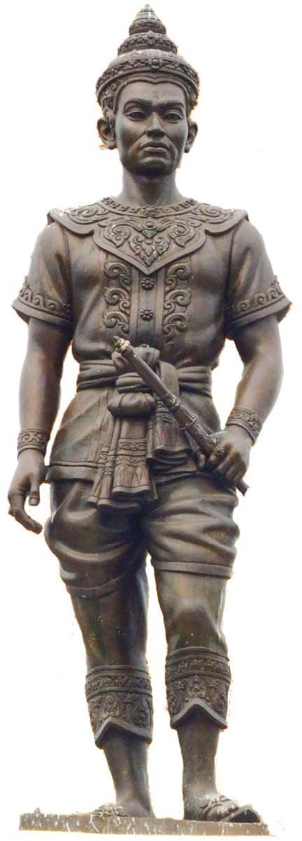 Statue des König Mengrai König von Lan Na