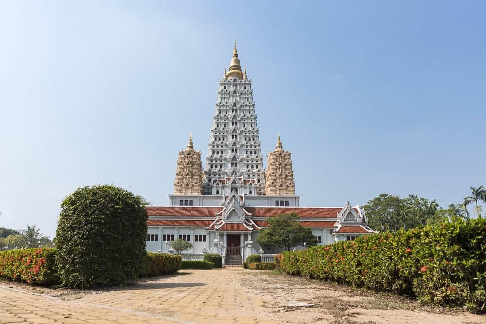 Jahrhunderte alte Tempelarchitektur