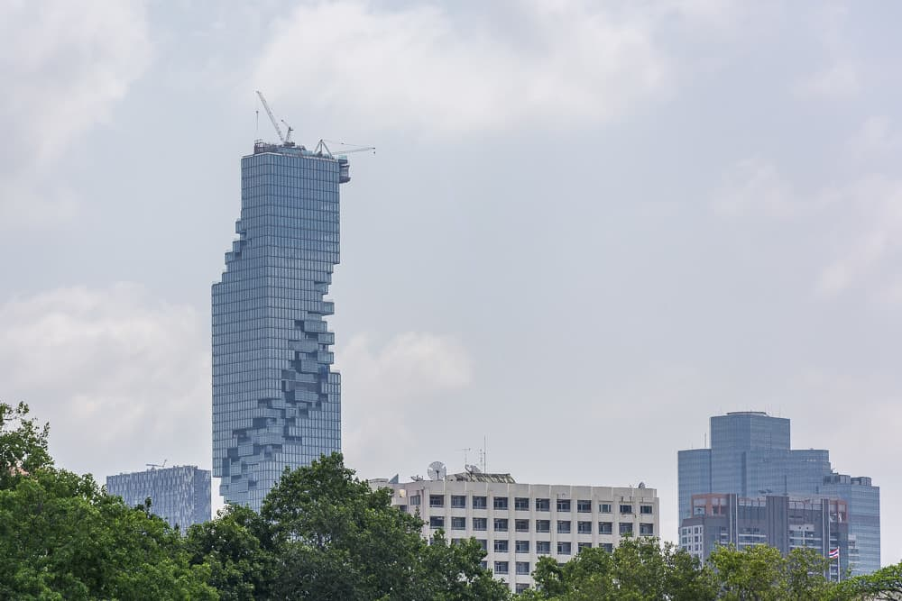 Skyline Mahanakhon Tower in Bangkok