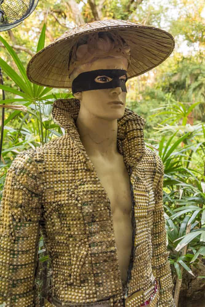 Antibabypillen-Mann mit Anzug