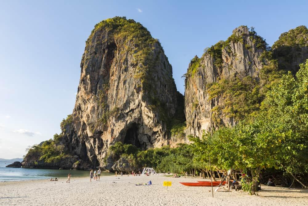 Strand bei Pang Nga in Südthailand