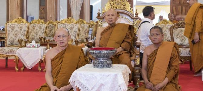 Der Geburtstag eines Mönches im Wat Phet Wararam