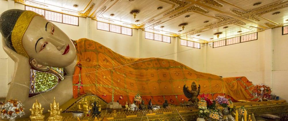 Der Schlafende Buddha im Wat Phra Non