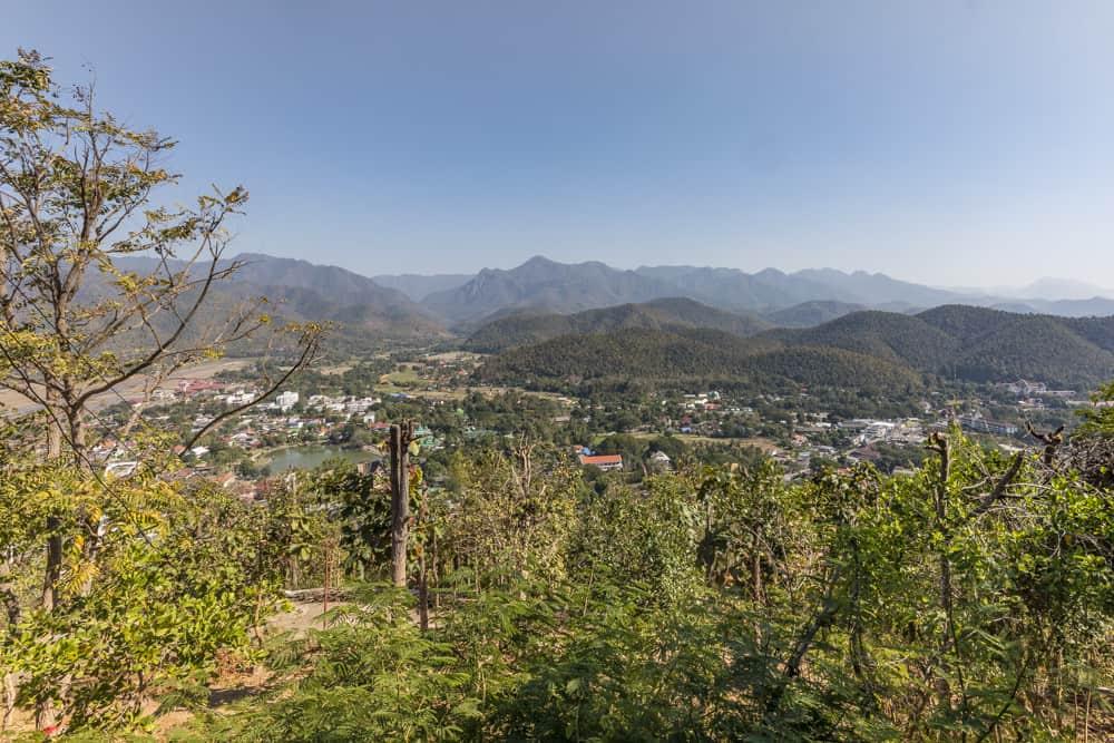 Ausblick vom Wat Phra That Doi Kong Mu
