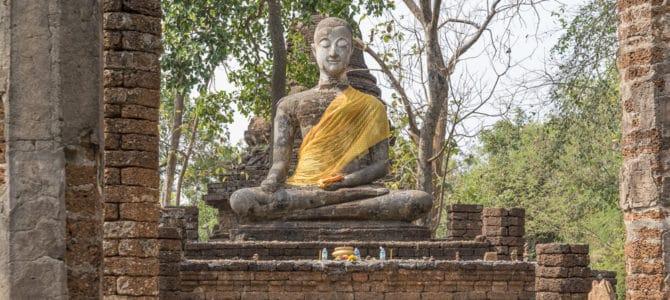 Der historische Park Si Satchanalai