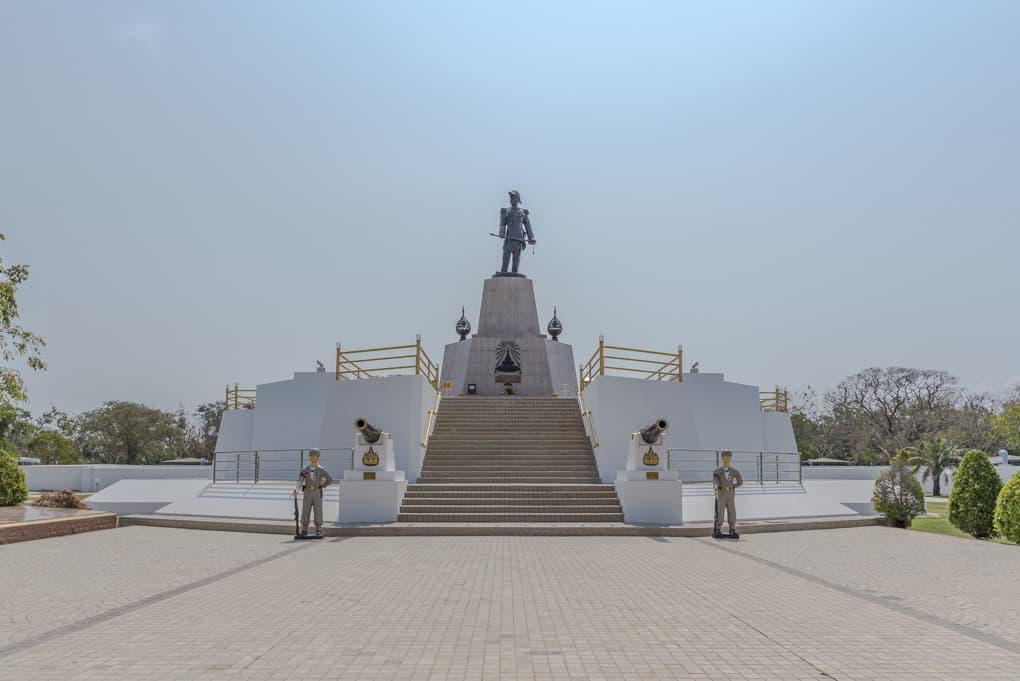 Denkmal zu Ehren seiner Majestät König Chulalongkorn Rama V.