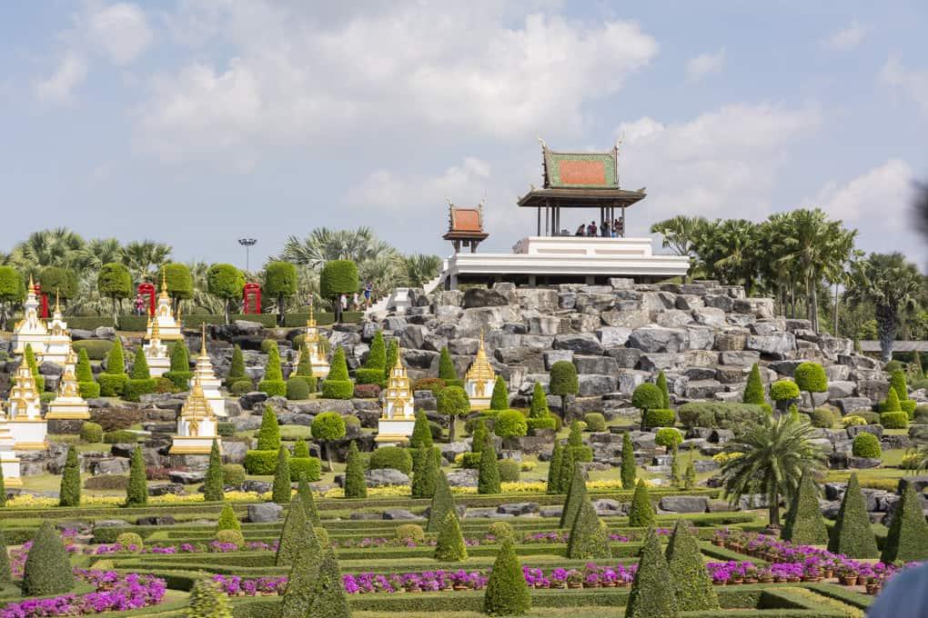 Gartenanlage in Nong Noch Garden