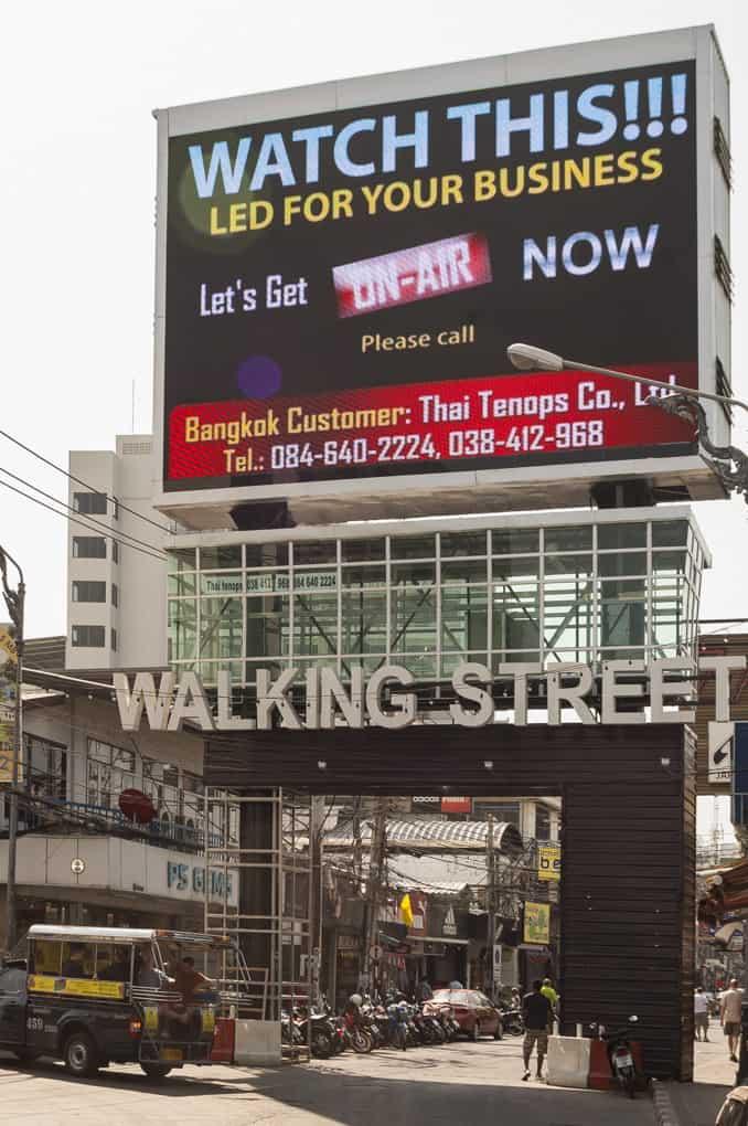Eingang Walking Street