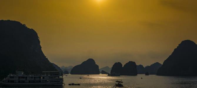 Halong Bucht im Norden Vietnams