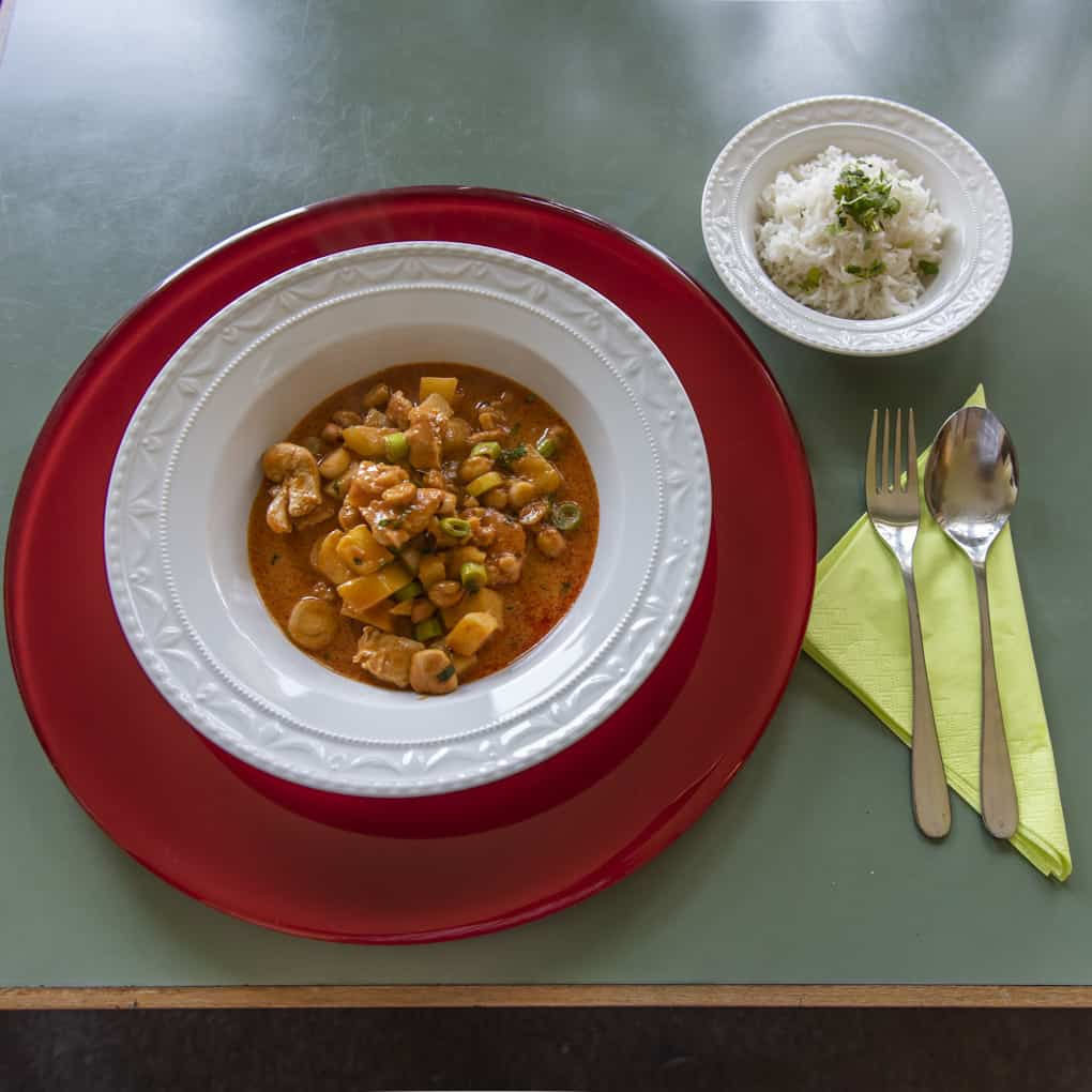 Rezept für ein köstlisches Massaman-Curry