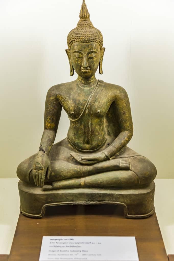 Buddha unterwirft sich Mara