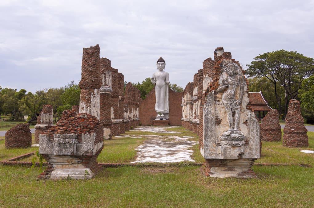 Dvaravati Viharn im Freilichtmuseum Muang Boran - Ancient City