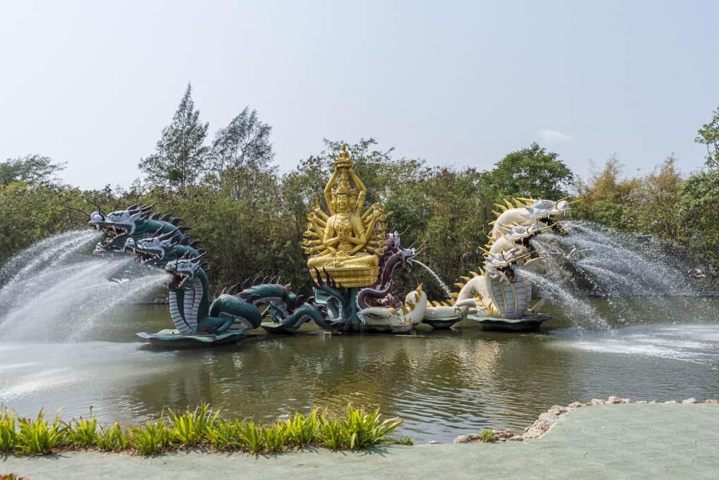 Bodhisattva Avalokitesavara in Mueang Boran - ancient City Freilichtmuseum