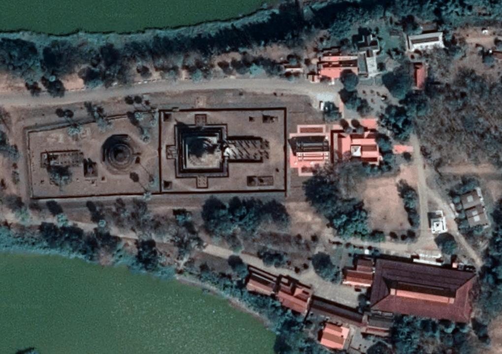 Wat Phra Sri Rattana Mahathat Aus Der Luft