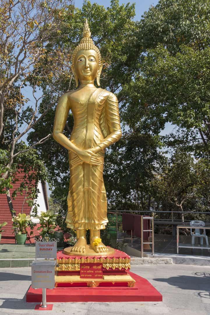 Sonntags-Buddha Wochentage in Thailand