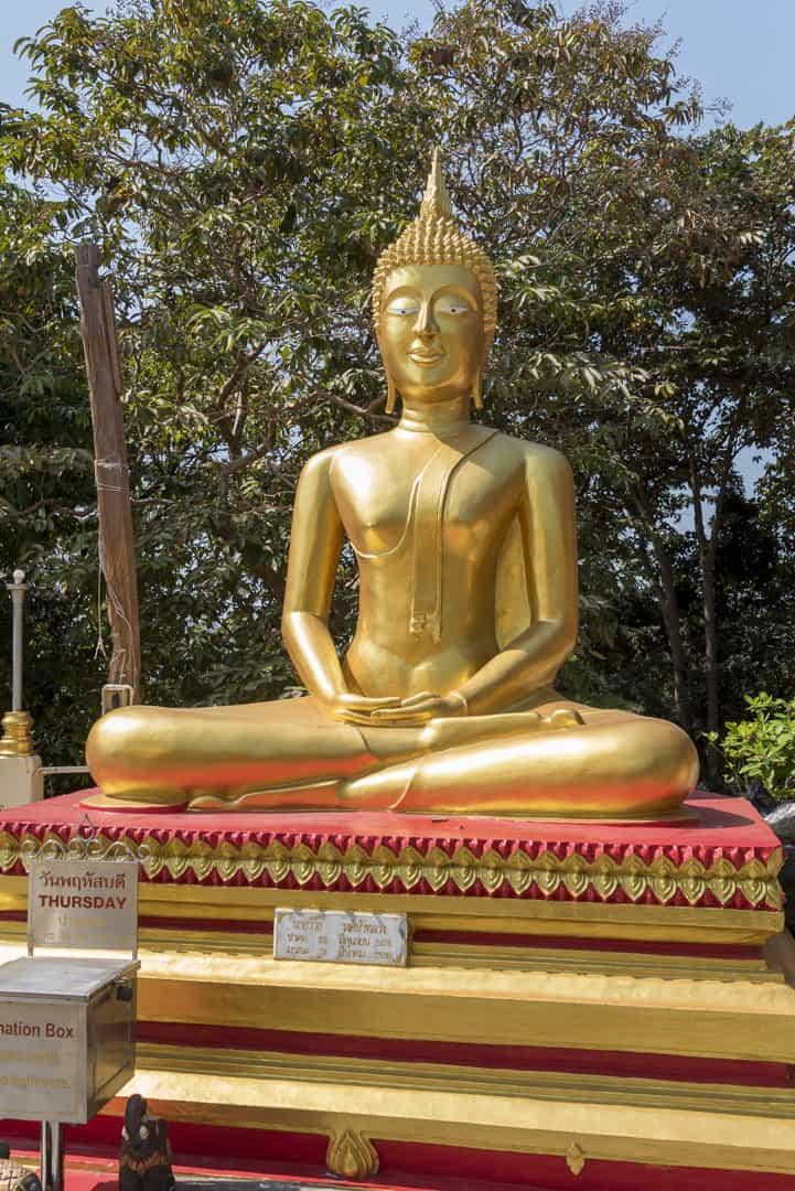 Wochentage In Thailand Donnerstag - Buddha