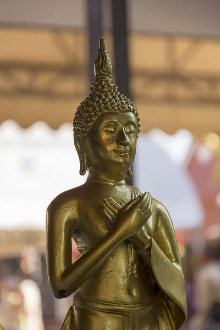 Wochentage In Thailand Freitags-Buddha