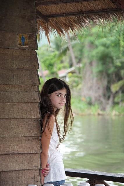 junge Thailänderin
