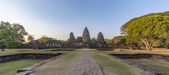 Prasat Hin und der historisch Park Phimai