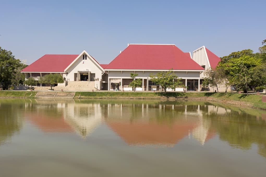 Die Gebäude des Phimai National Museums