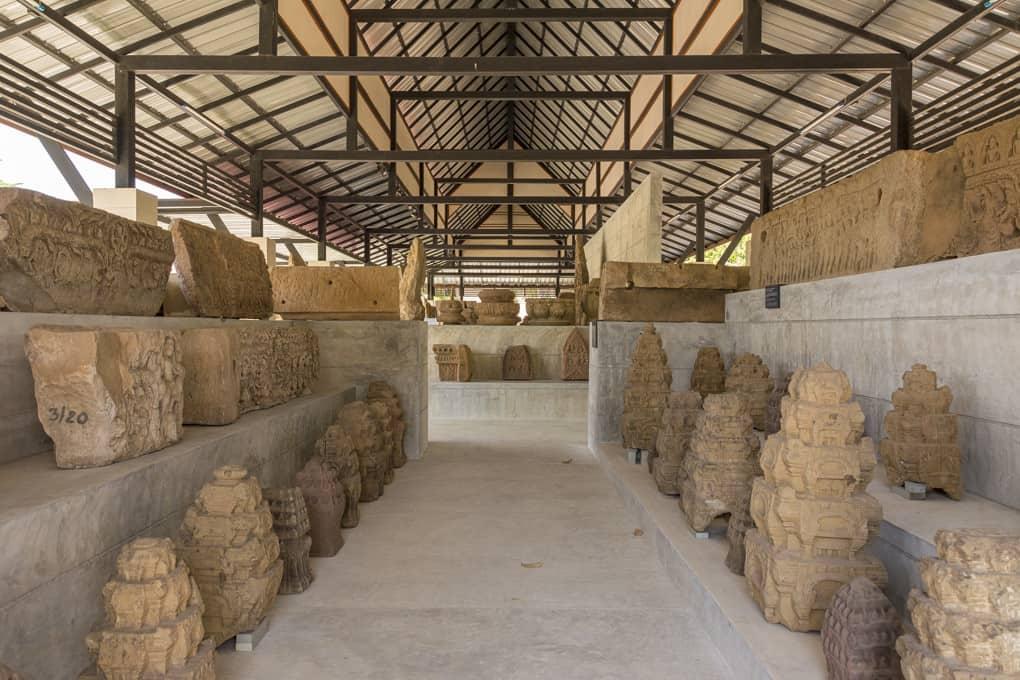 Aussenbereich des Nationalmuseum Phimai