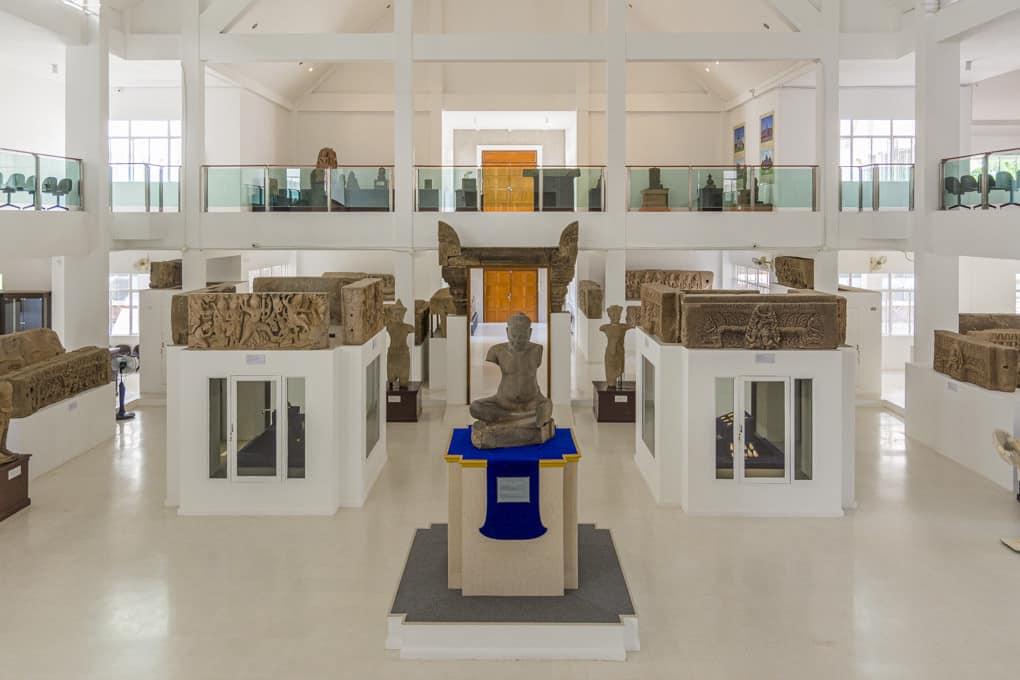 Eingangsbereich der Ausstellung im National Museum Phimai