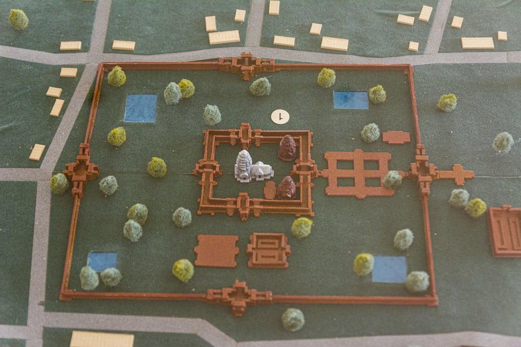 Model des Prasat Hin Phimai im National Museum Phimai