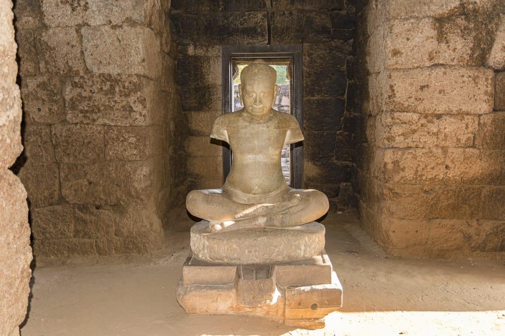 Statue von Jayavarman VII.