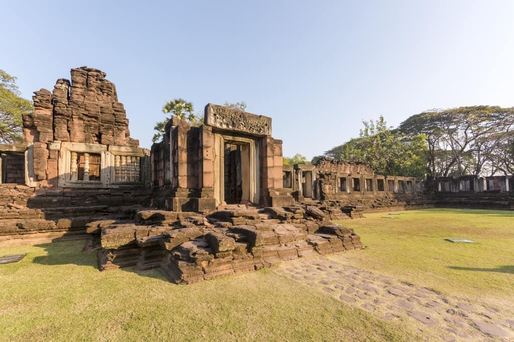 Gopuram mit der Gallerie