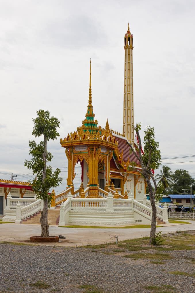 Krematorium in einem thailändischem Wat