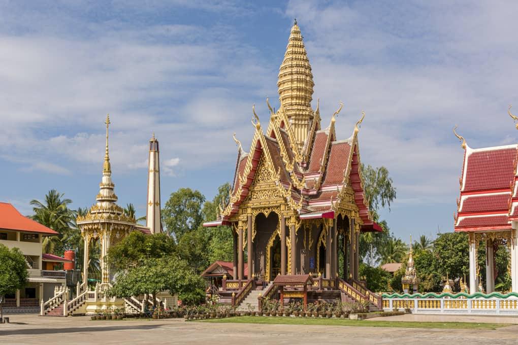 Mondop in einem thailändischem Wat